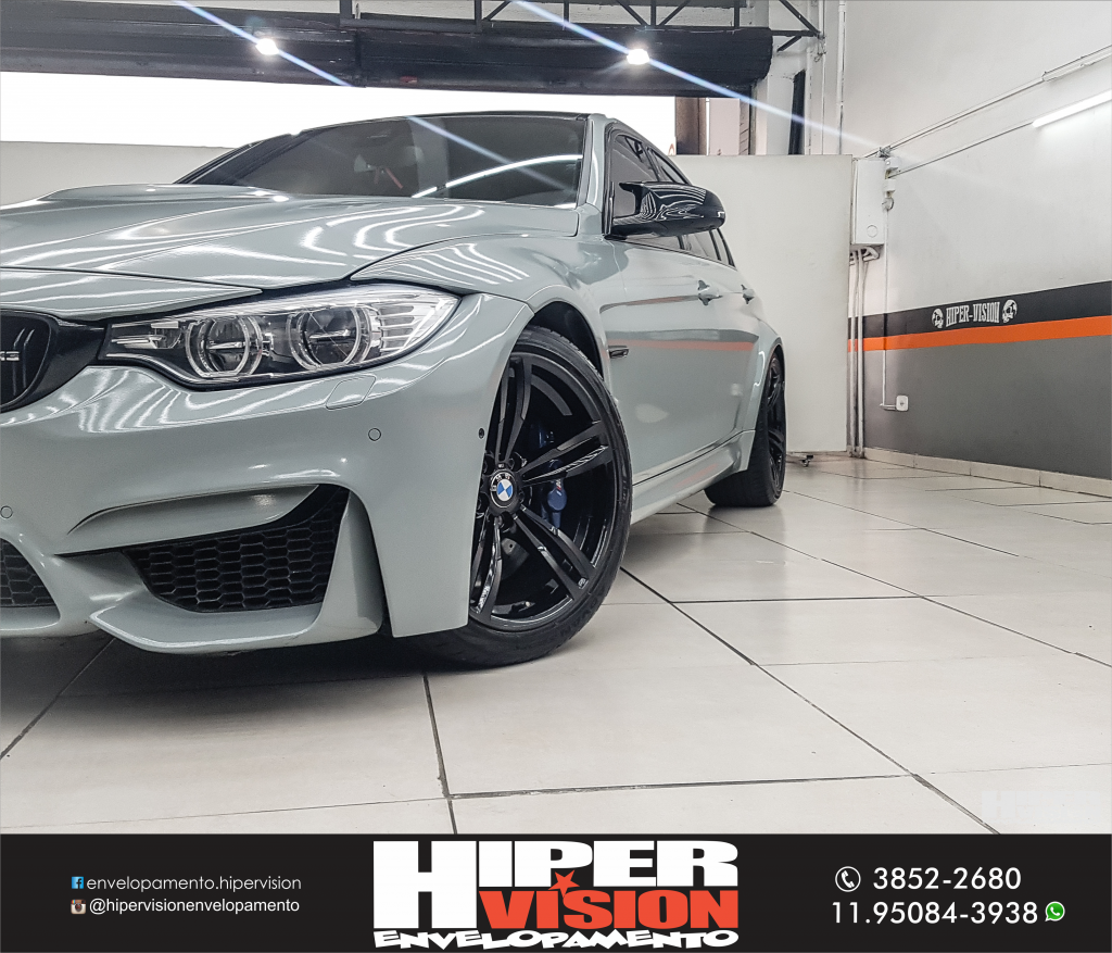 BMW M3 ENVELOPAMENTO NARDO GREY (6)