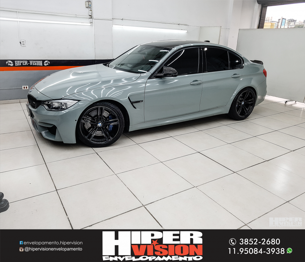 BMW M3 ENVELOPAMENTO NARDO GREY (7)