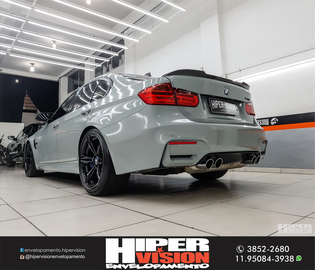 BMW M3 ENVELOPAMENTO NARDO GREY (8)